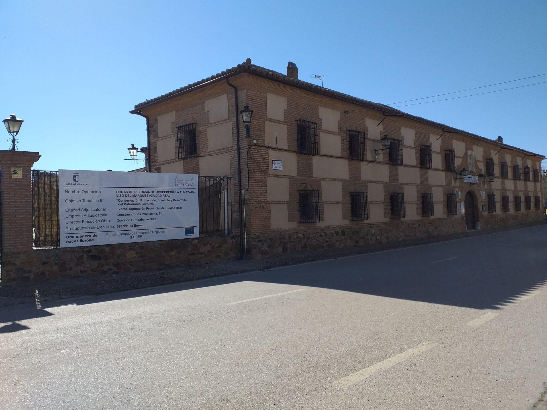 REFORMA HOSPEDERÍA LA ALMAZARA (VISO DEL MARQUÉS)